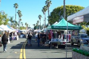 Farmers Market @ Corner of Pier View Way and Coast Highway | Oceanside | California | United States