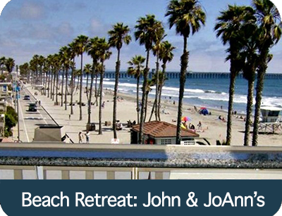 Beach Retreat- John & JoAnn's
