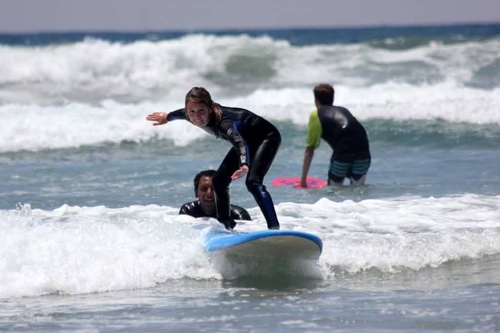 Learn to rip surf lessons visit oceanside for Surf fishing southern california