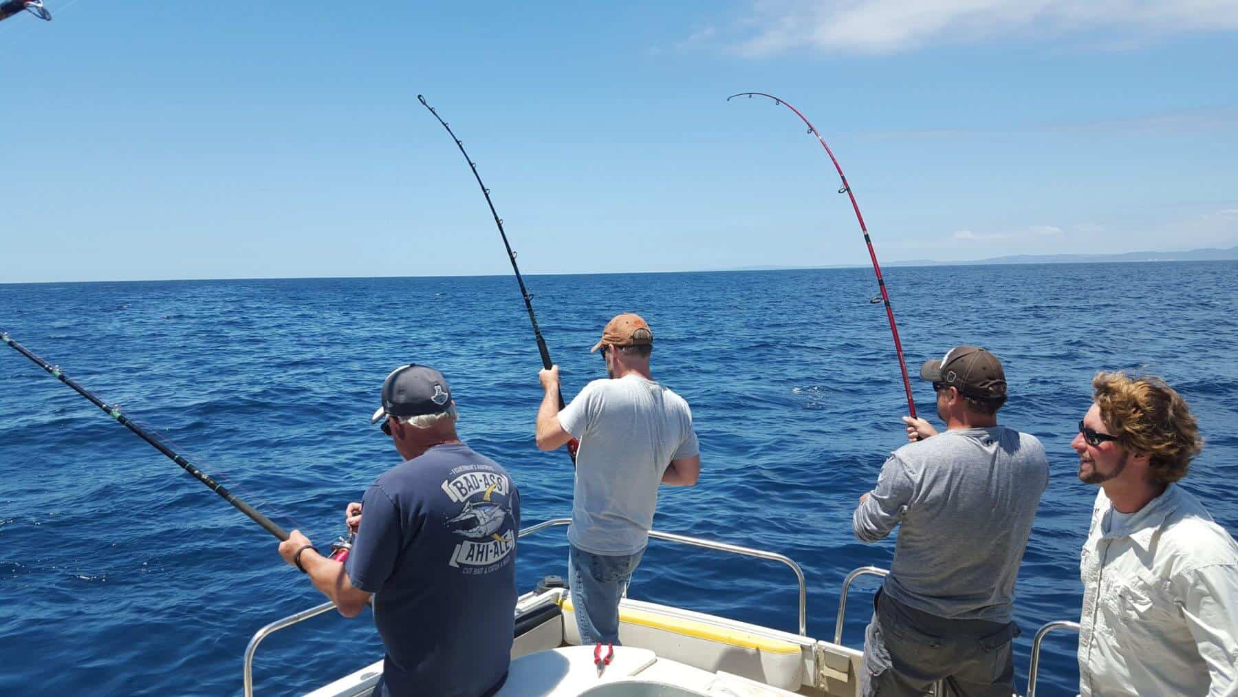Fish taxi sportfishing and boat charters visit oceanside for Southern california fishing charters