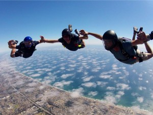 3  over Oceanside_Coastal Skydiving