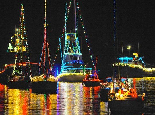 Parade of Lights Oceanside Harbor