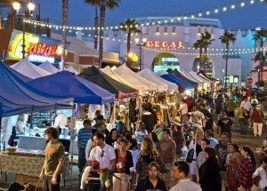 Sunset Market @ Corner of Pier Way and Coast Highway | Oceanside | California | United States