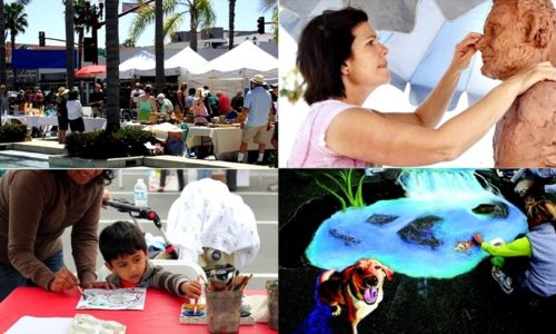 Oceanside Days of Art montage