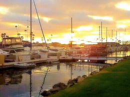 Oceanside Harbor, oceanside sunset