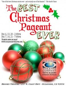 The Best Christmas Pageant Ever @ Brooks Theatre | Oceanside | California | United States