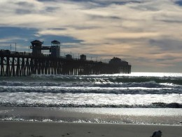 Oceanside Pier and Oceanside Beach