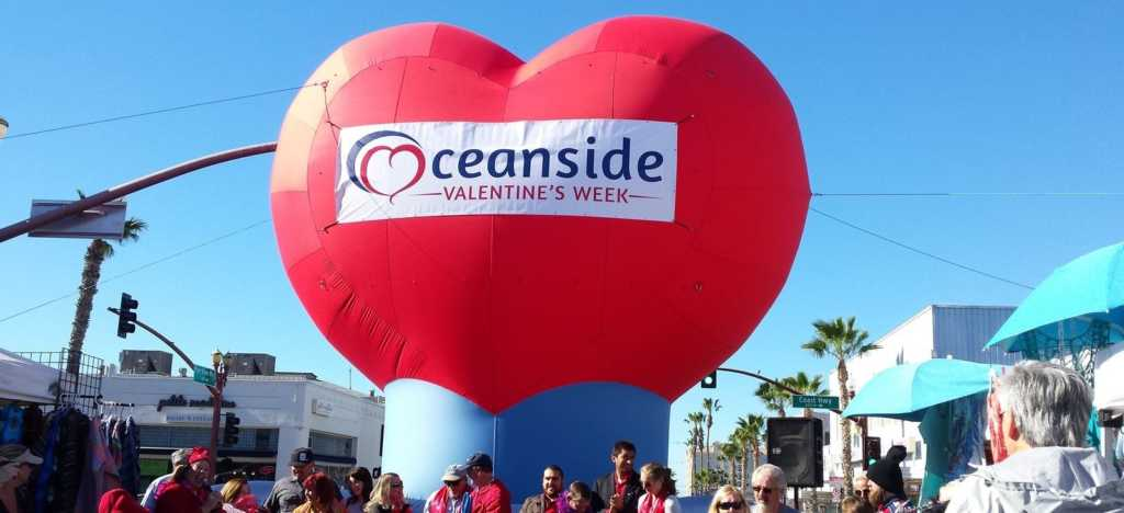 America's Biggest Heart @ Downtown Oceanside