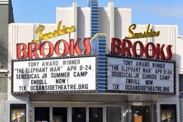 Sunshine Brooks Theater Oceanside Filming Locations