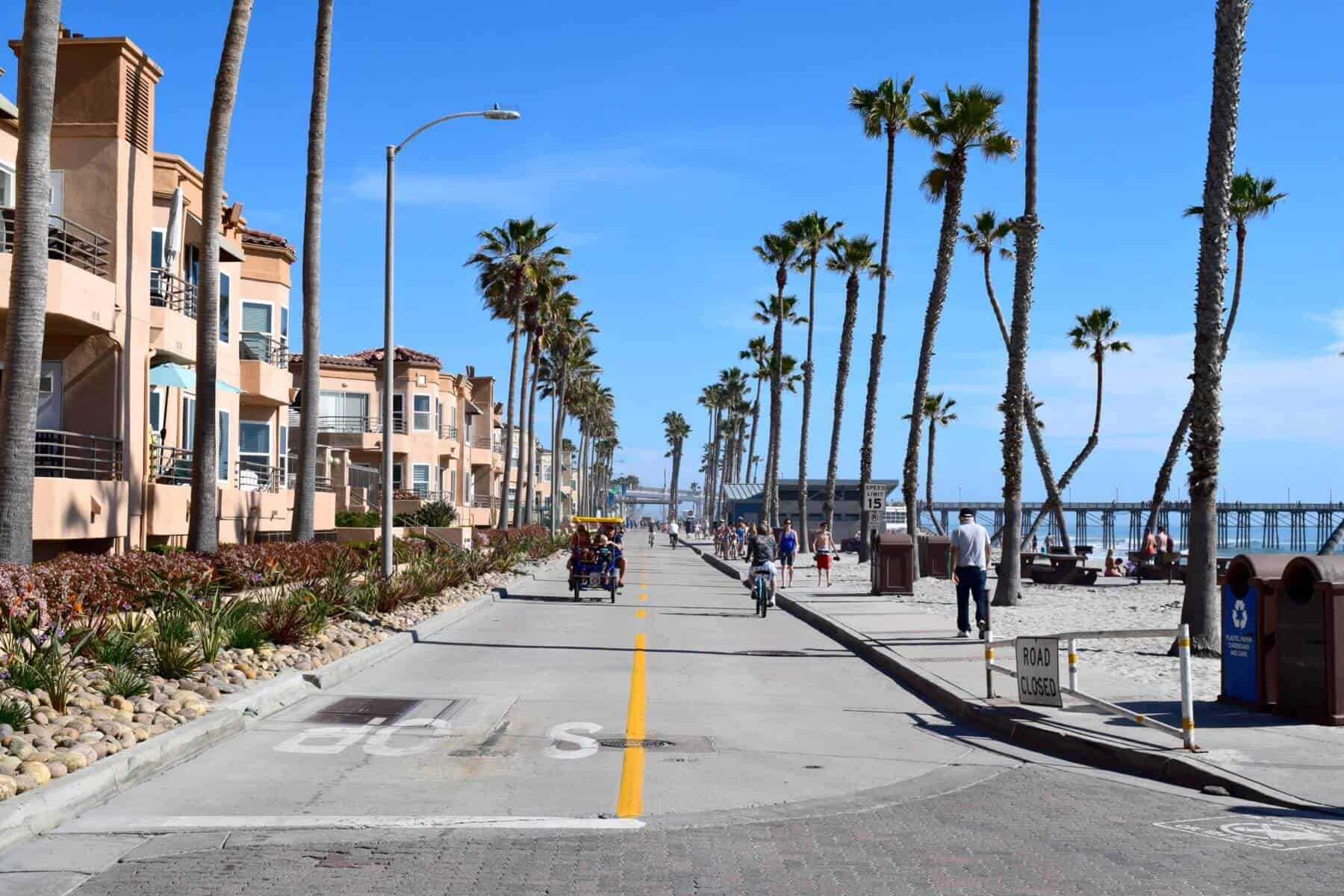 bike along the strand, cycling, things to do in oceanside, family friendly activities