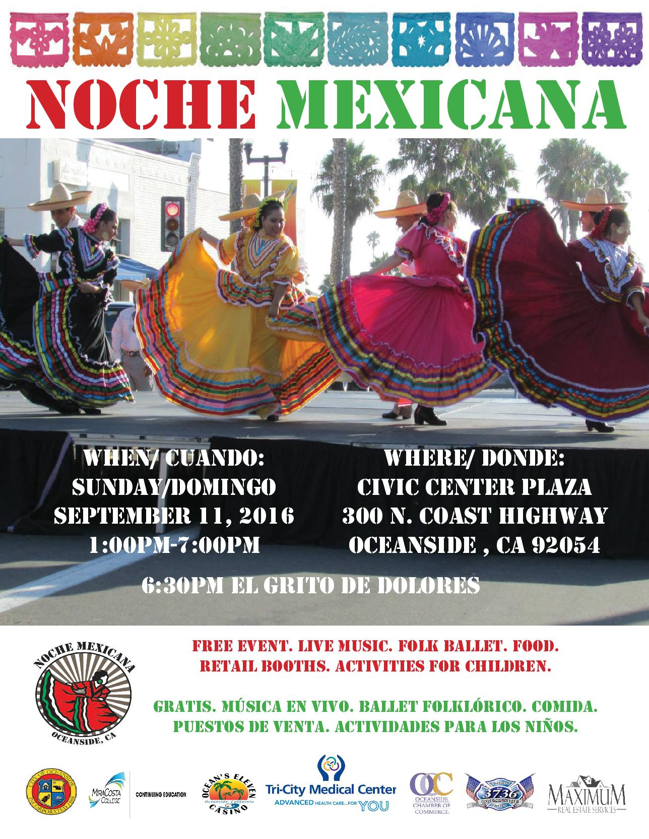 12th annual noche mexicana 2016 oceanside