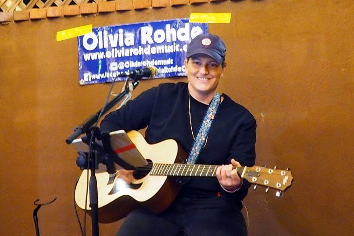 Olivia Rhode Performing at The Bunker House Cafe & Social Lounge