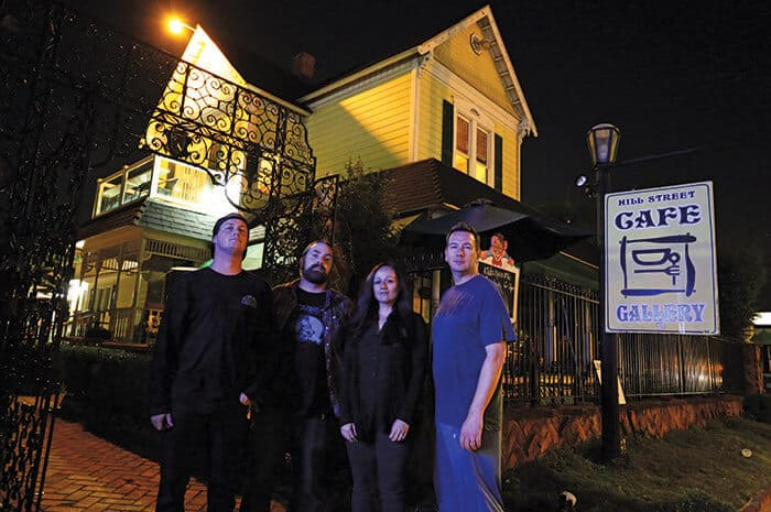 Hill Street Cafe Haunted