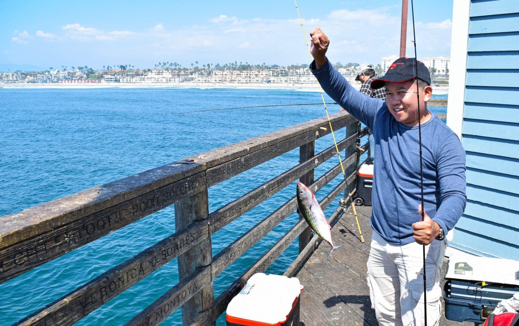 Fishing with the family a perfect oceanside adventure for Best bait for pier fishing