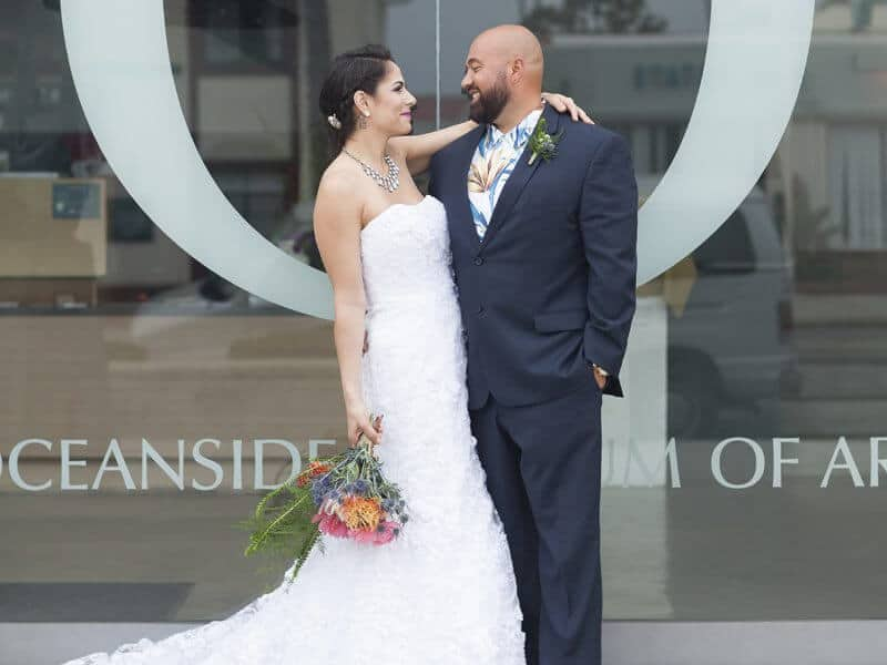 Oceanside Museum of Art Wedding