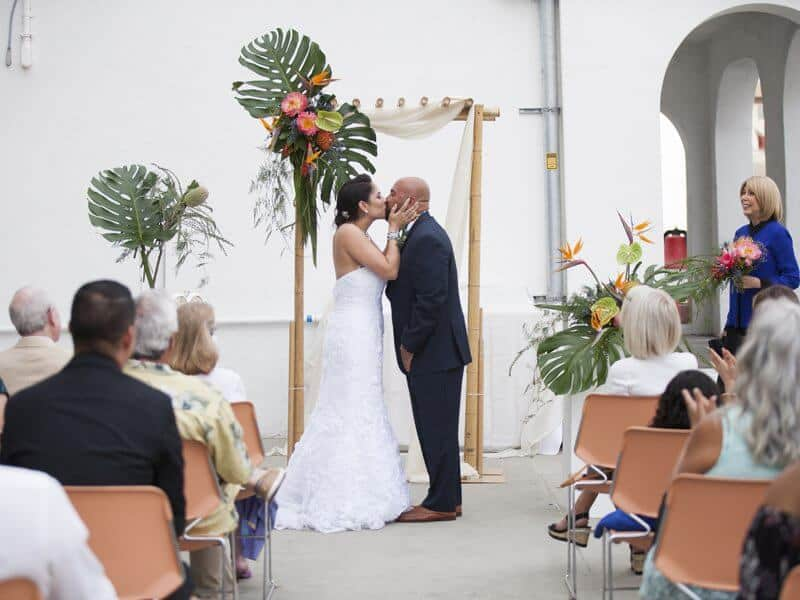 Oceanside Museum of Art Wedding Ceremony