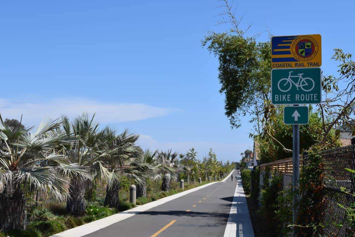 Coastal Rail Trail Oceanside CA