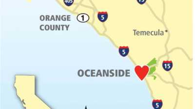 Heart of Oceanside Map