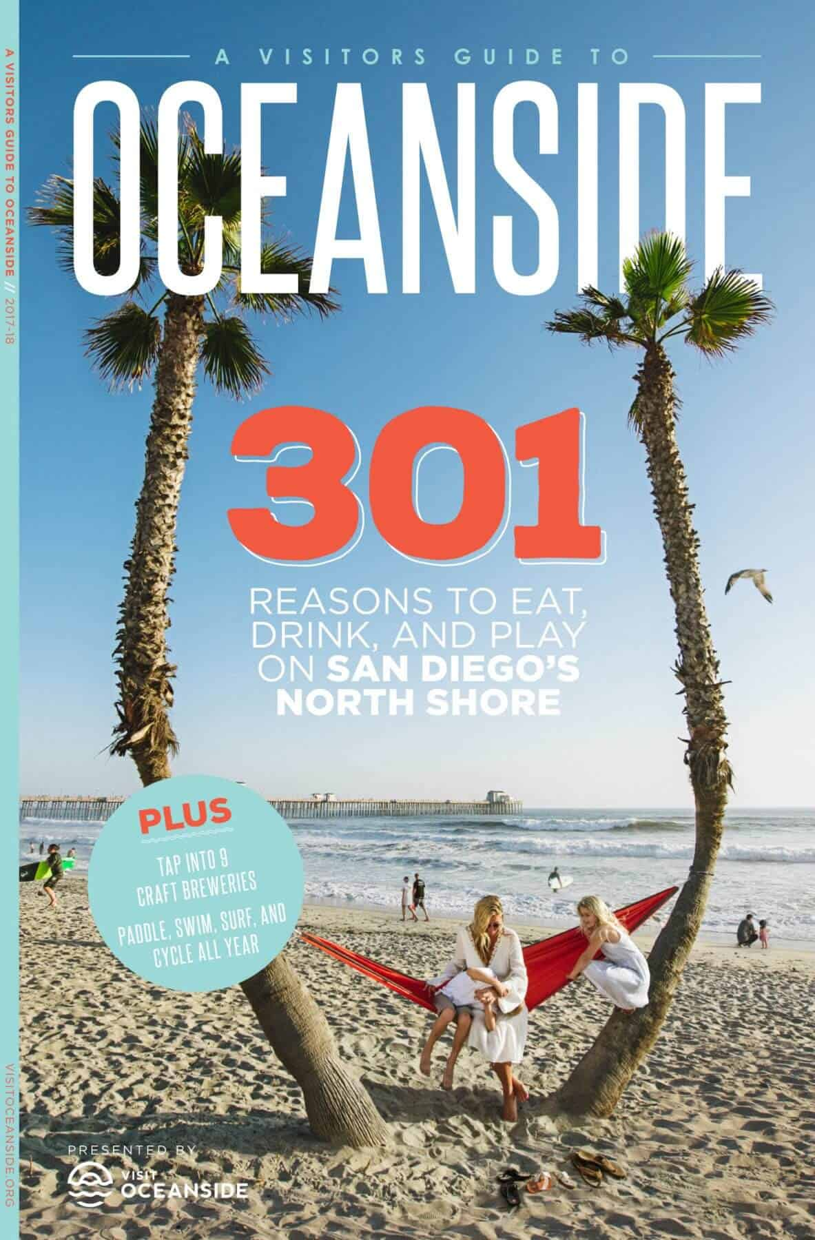 2017-18 Oceanside Visitor Guide- Cover Image