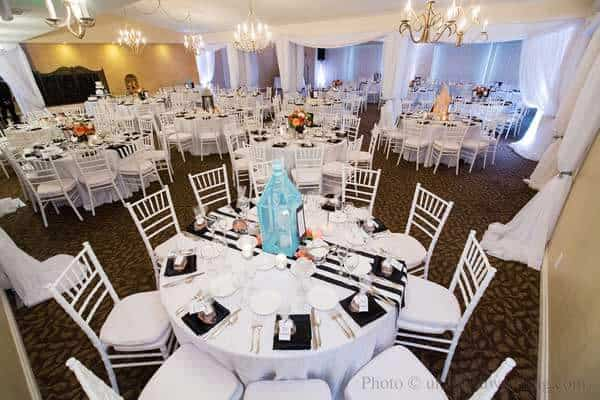 oceanside indoor reception venue