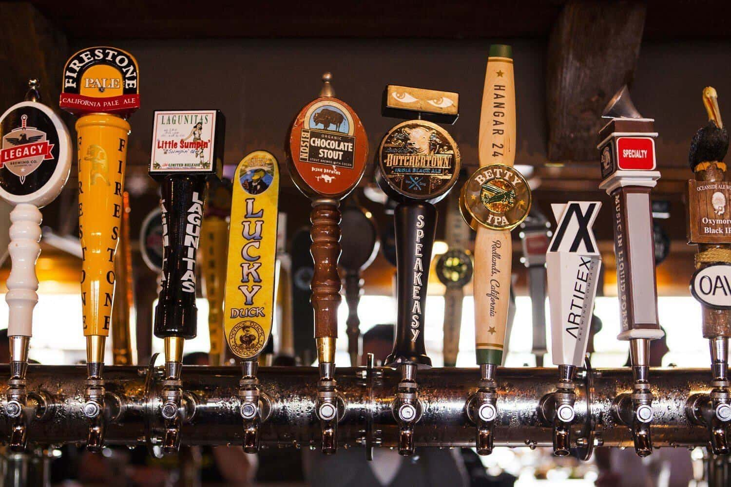 Mission Ave Bar & Grill Beer Tap