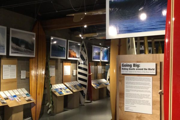 California Surf Museum - Going Big Exhibit - Oceanside CA