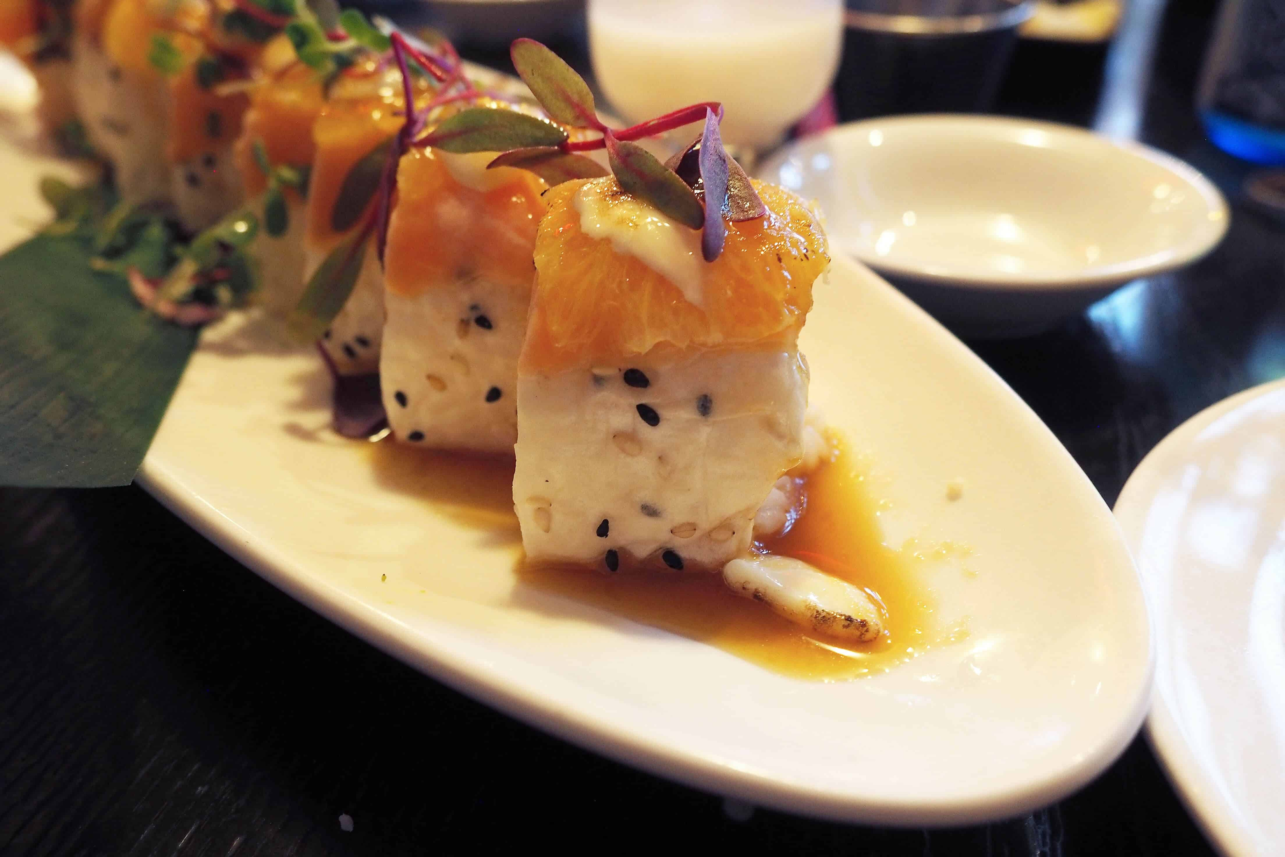 Harney Sushi Orange Crush Roll