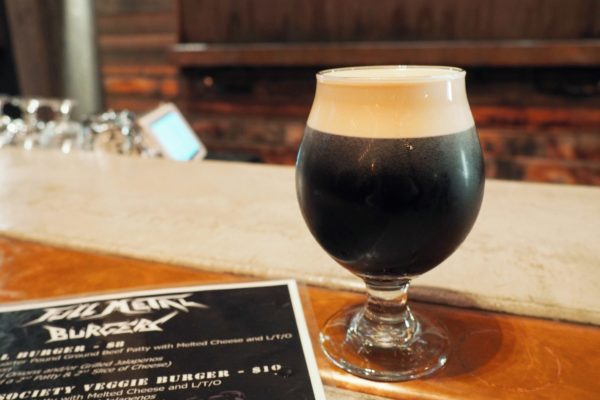 Draft Beer and Menu at Black Plague Brewing