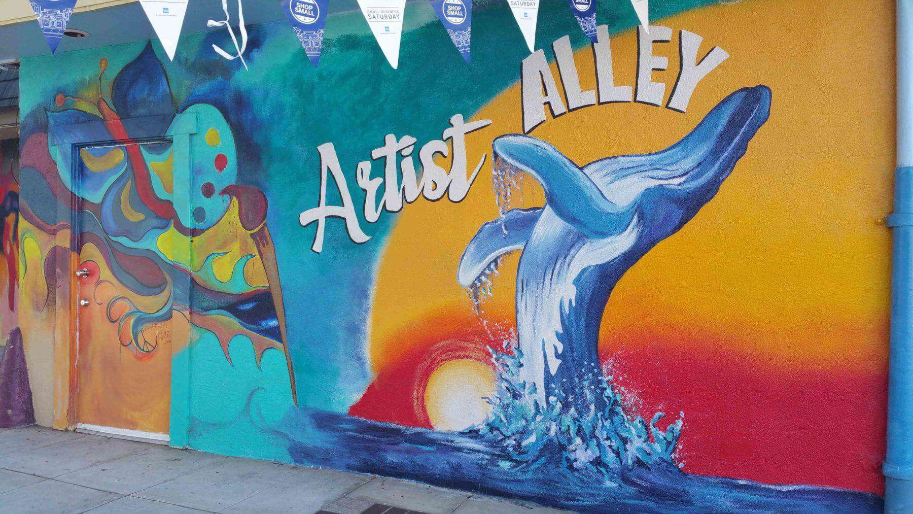 Oceanside Murals Artist Alley