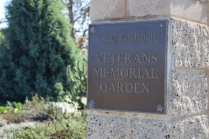 Camp Pendleton- Veterans Memorial Garden