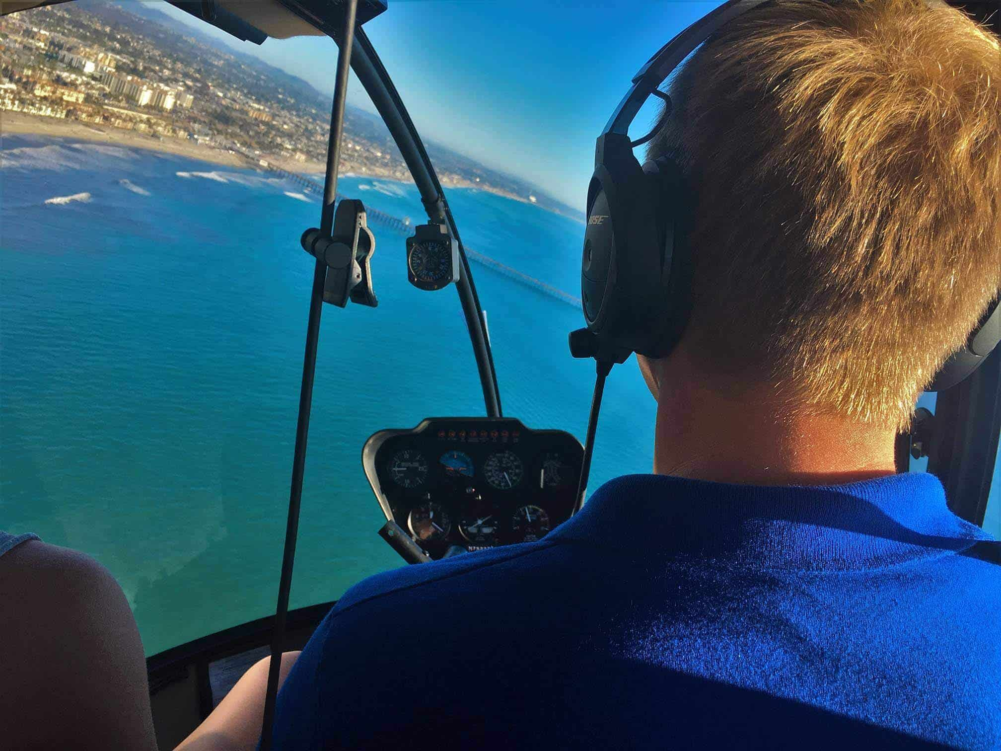 Waverider Helicopter Tour - Oceanside