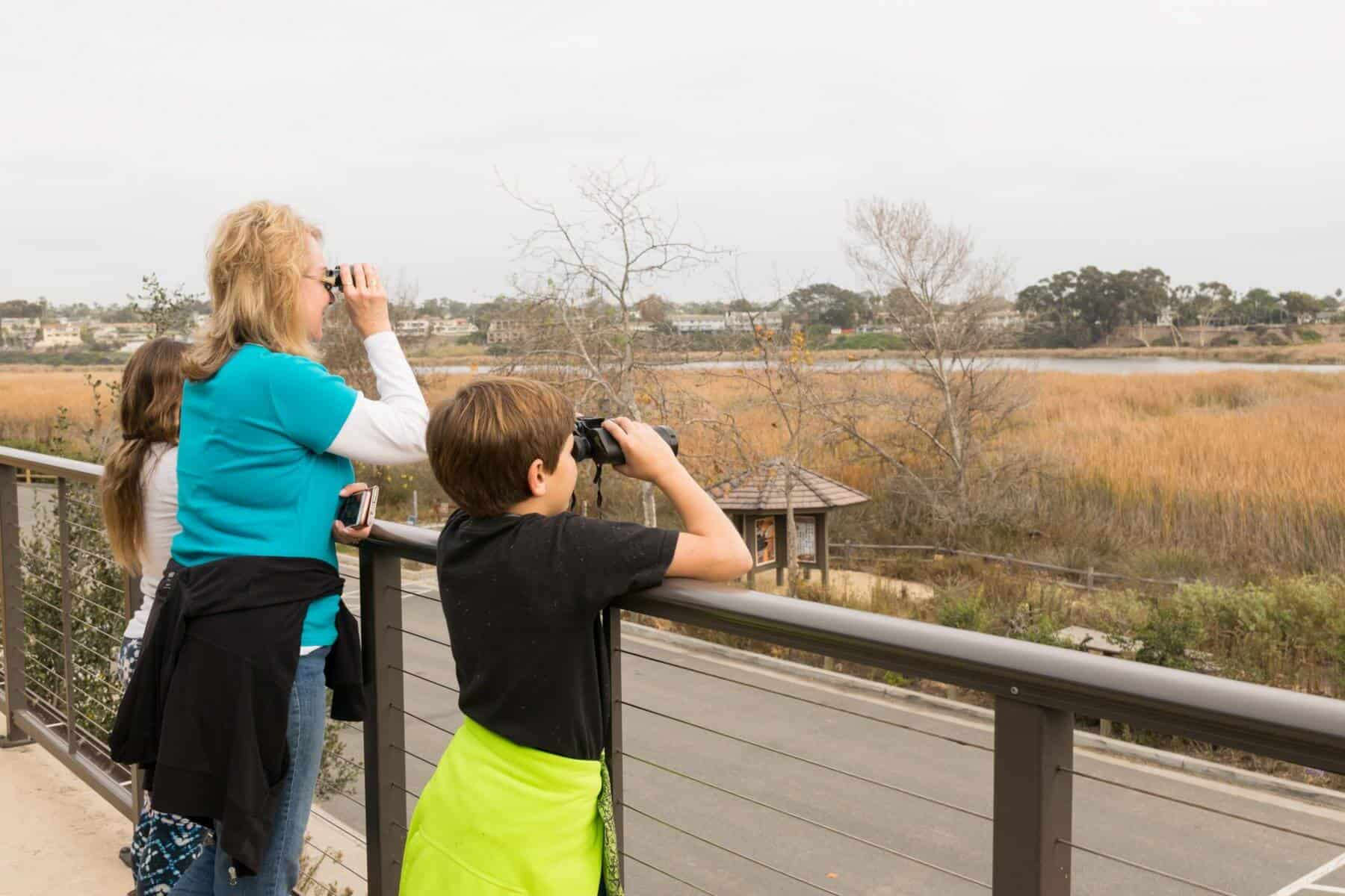 Birding at Buena Vista Nature Center Oceanside