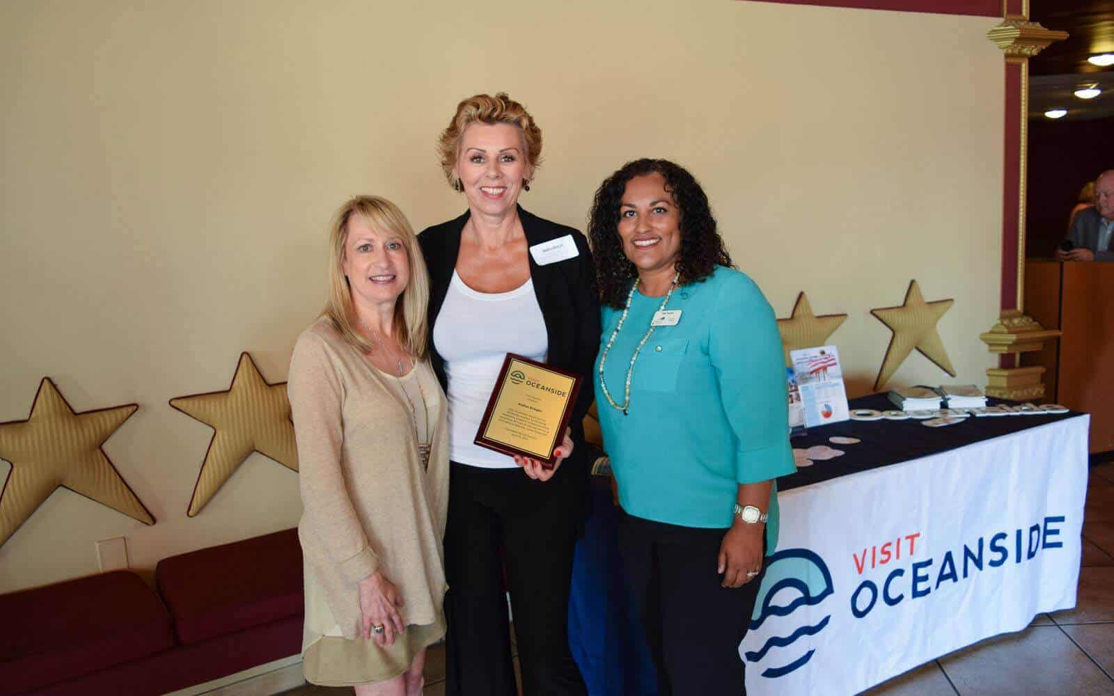 2017 Oceanside Tourism Summit- MiraCosta Scholarship Winner