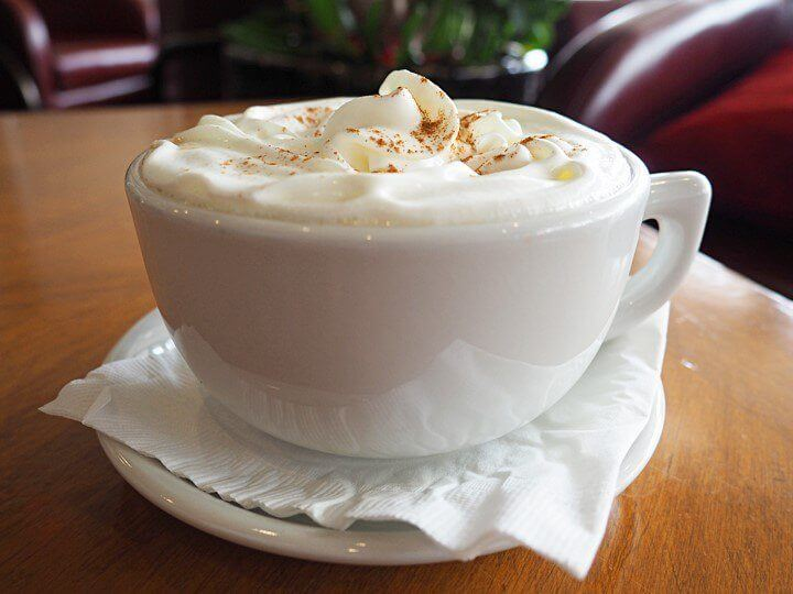 Brown Cup Cafe & Lounge Snickerdoodle Latte