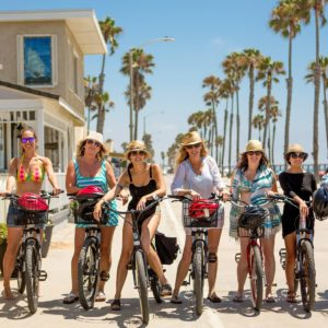 Girlfriend Getaway and Biking in Oceanside | Tatiana M Photography