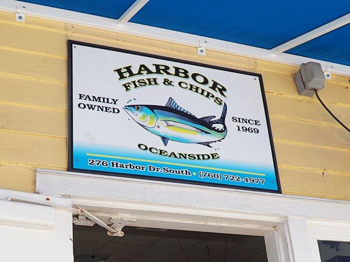 Harbor Fish & Chips Entryway