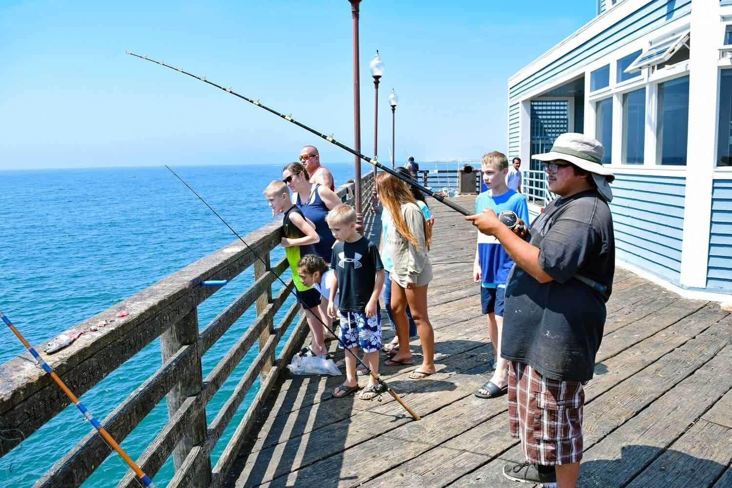 Fishing with the family a perfect oceanside adventure for How to fishing
