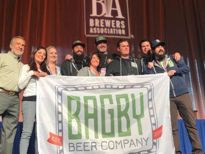 Bagby Beer Company- 2017 Winner Silver Award- Great American Beer Festival