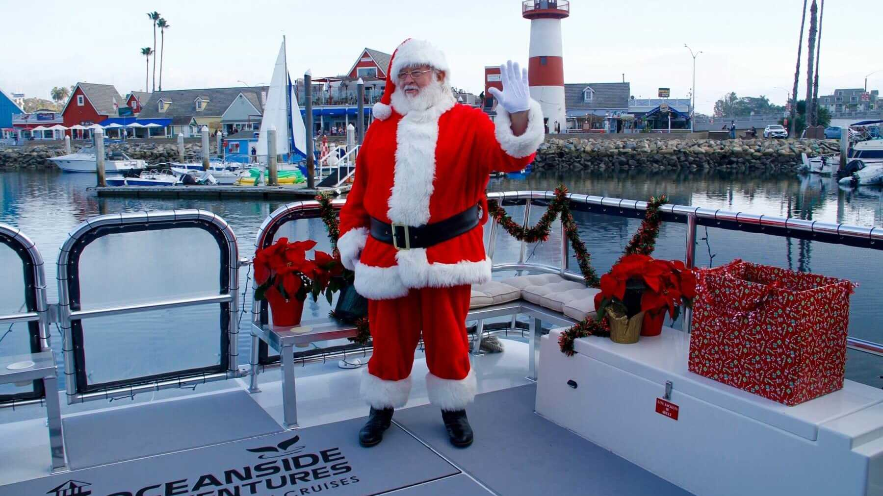 Oceanside Adventures Boat Ride with Santa