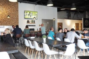 That Boy Good & Northern Pines Brewing Dining Room Oceanside