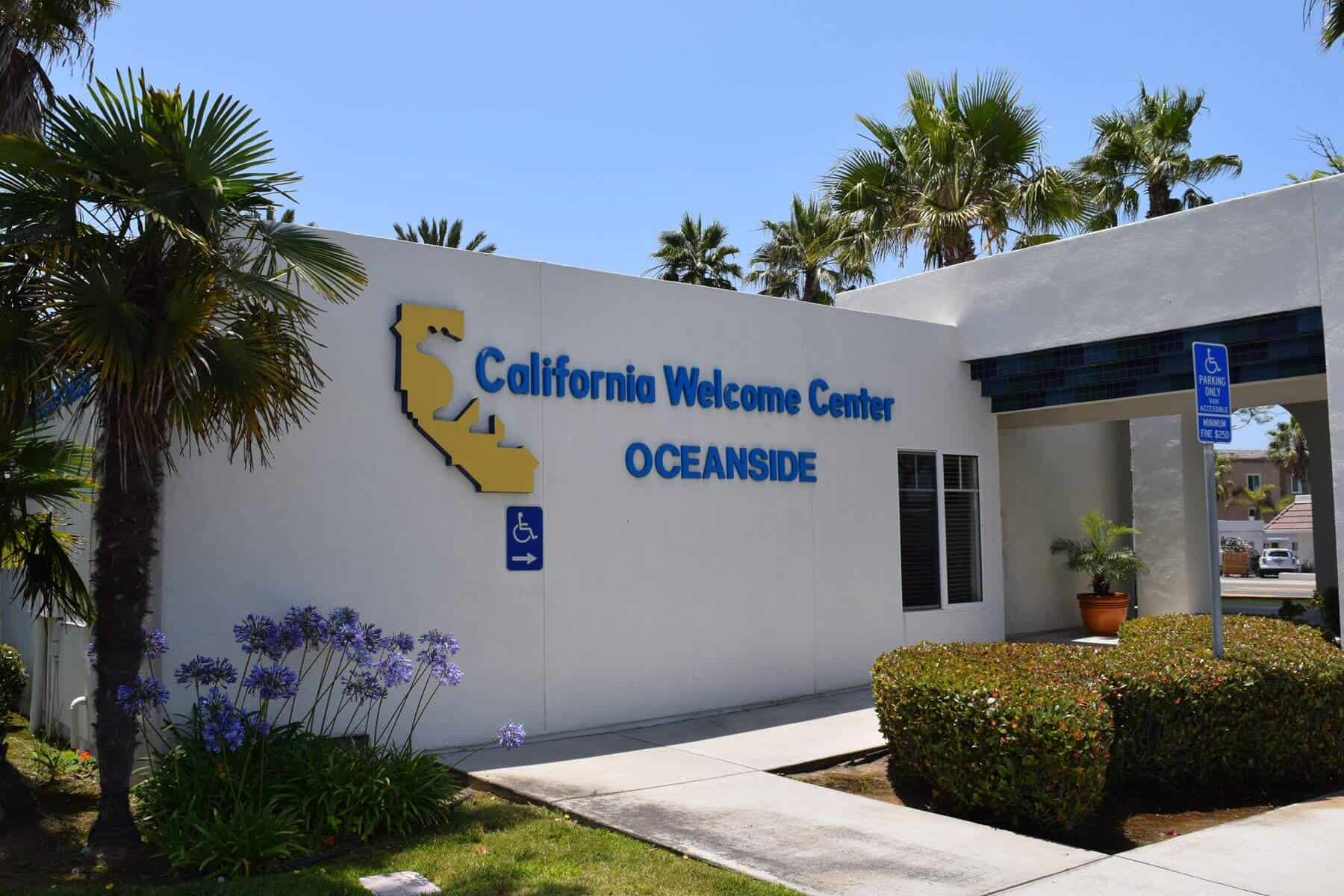 California Welcome Center -Oceanside - Entrance