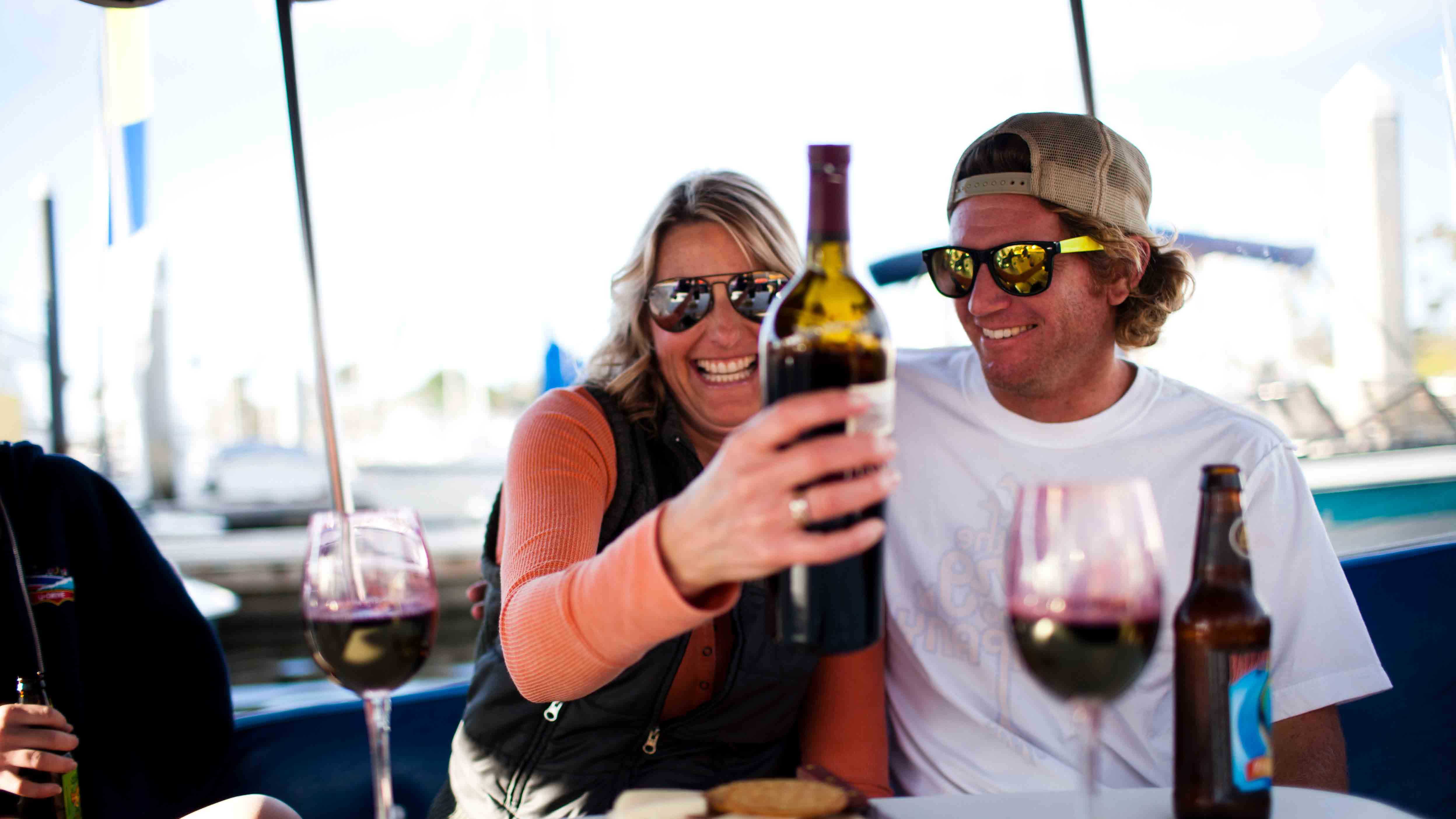 Oceanside Boat Rentals Couple