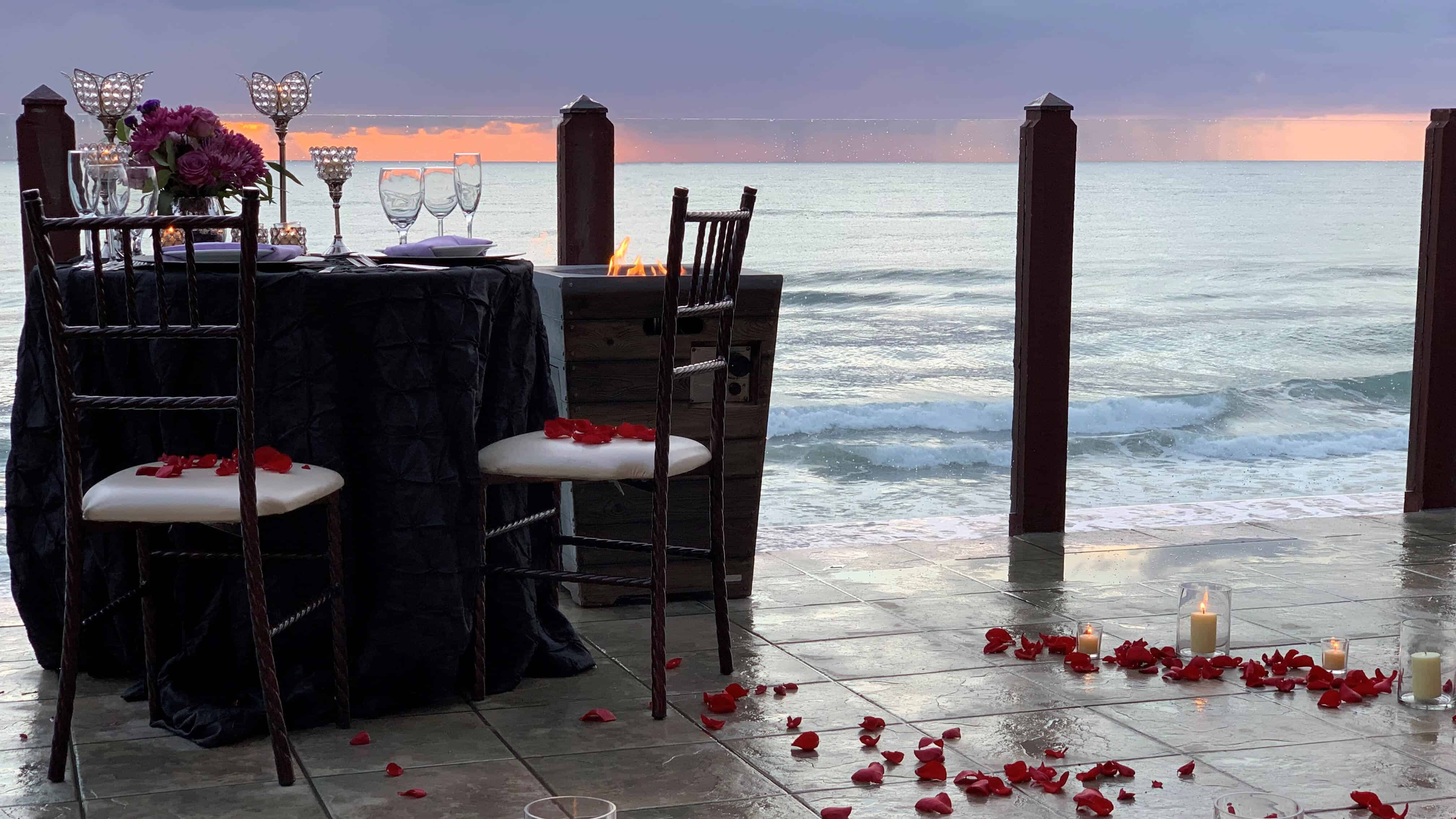 Oceanside Proposal Anything But Ordinary Catering