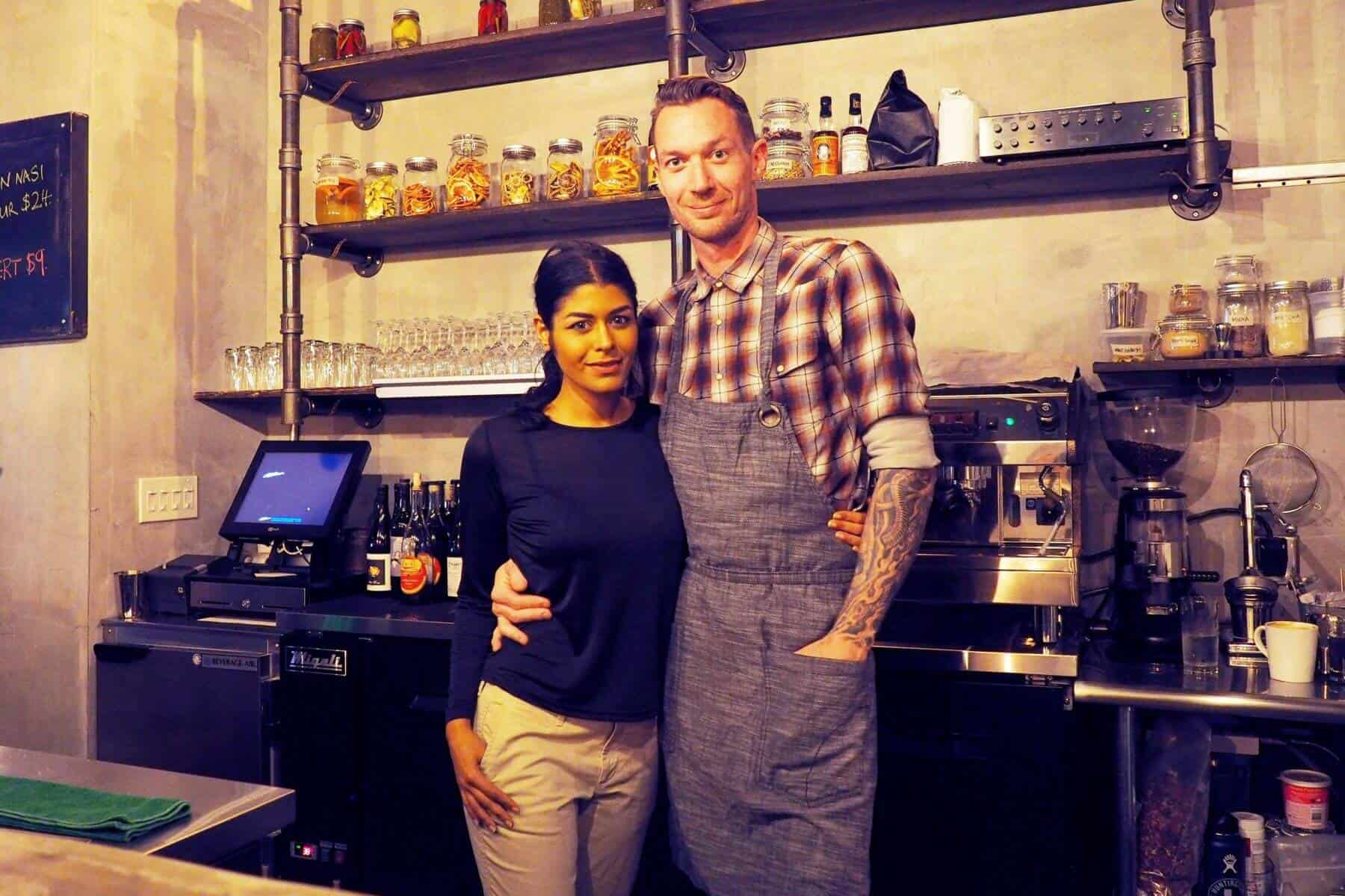 Dija Mara Owners Simran Soin and Rob Jones