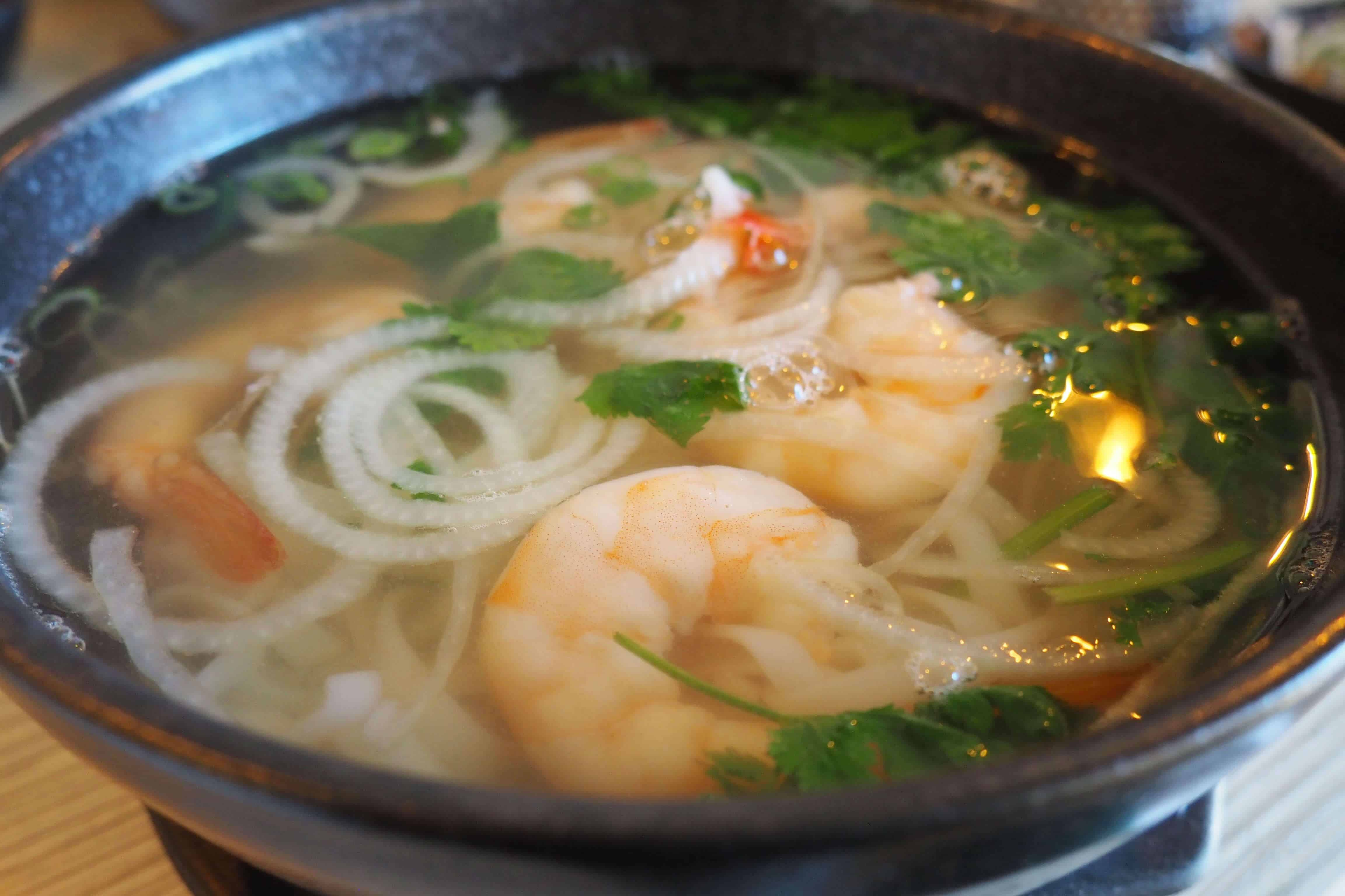 Pho Kitchen Shrimp Pho