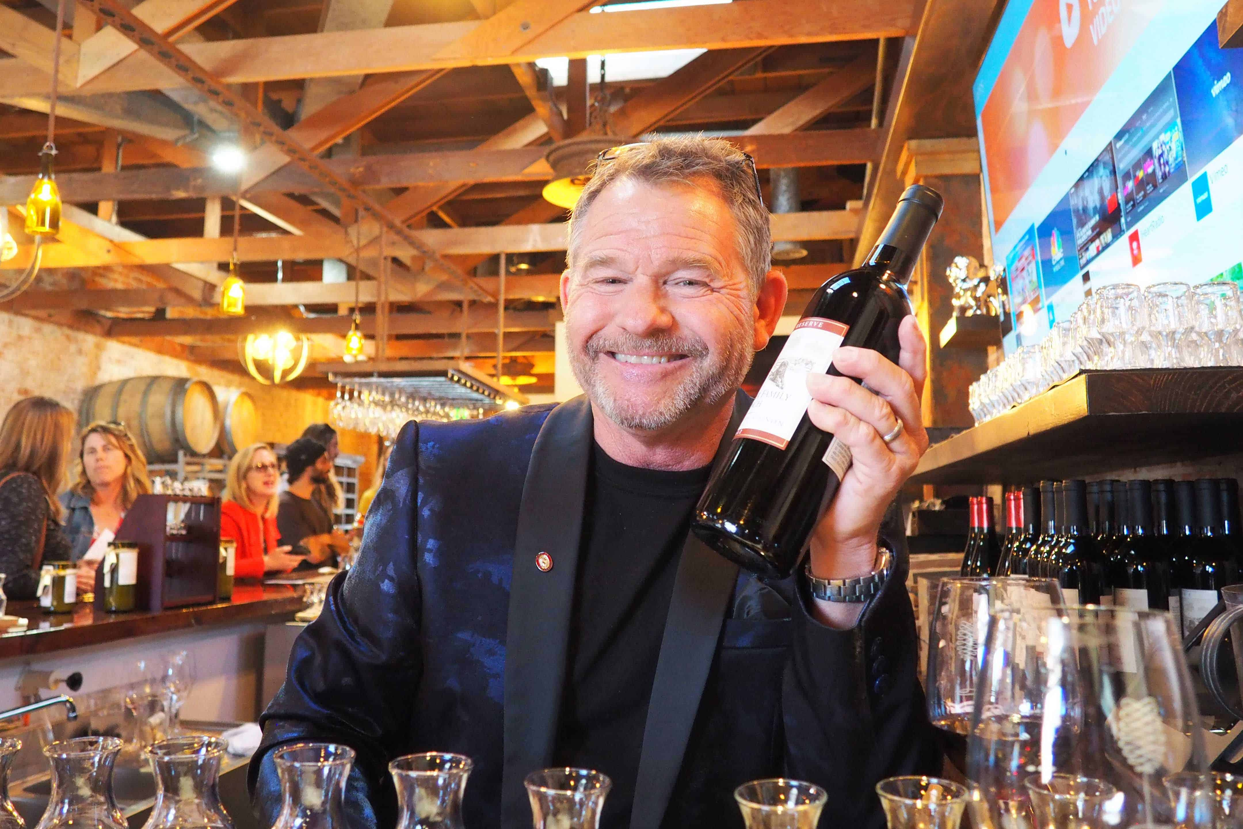 Coomber Craft Wines Co-owner Skip Coomber