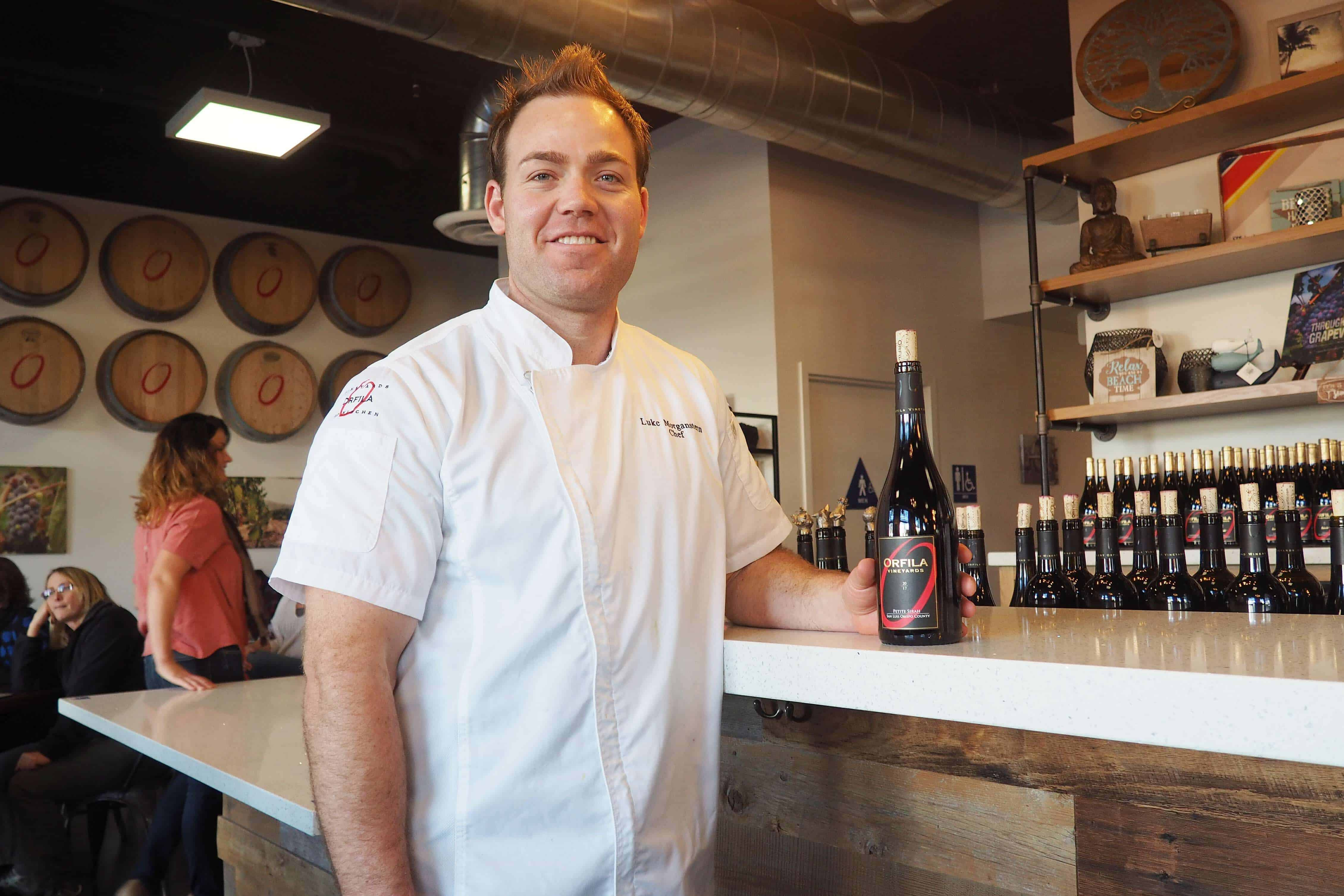 Orfila Vineyards & Winery Executive Chef Luke Morganstern