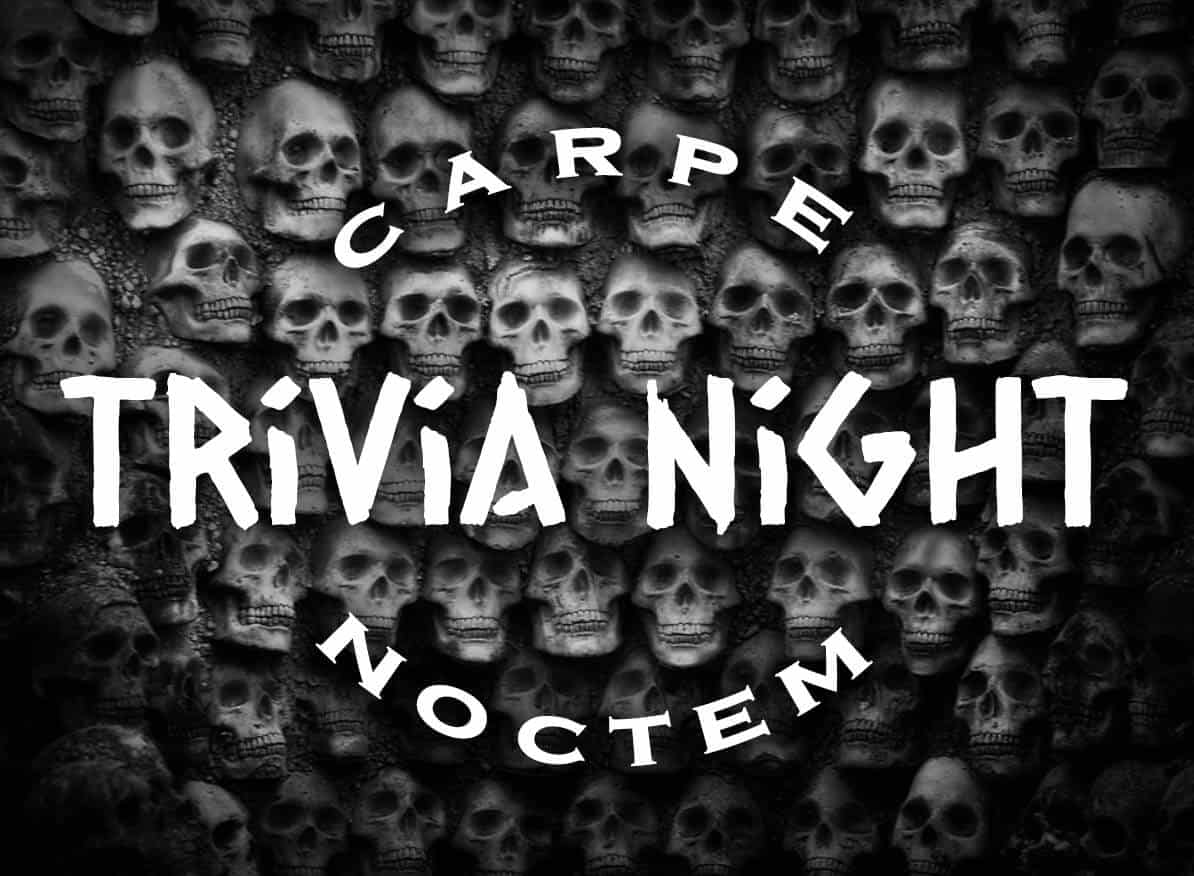 Black Plague Brewing Trivia Night