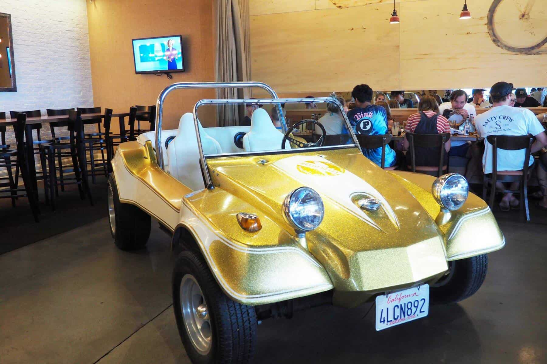 Hello Betty Fish House Vintage Dune Buggy