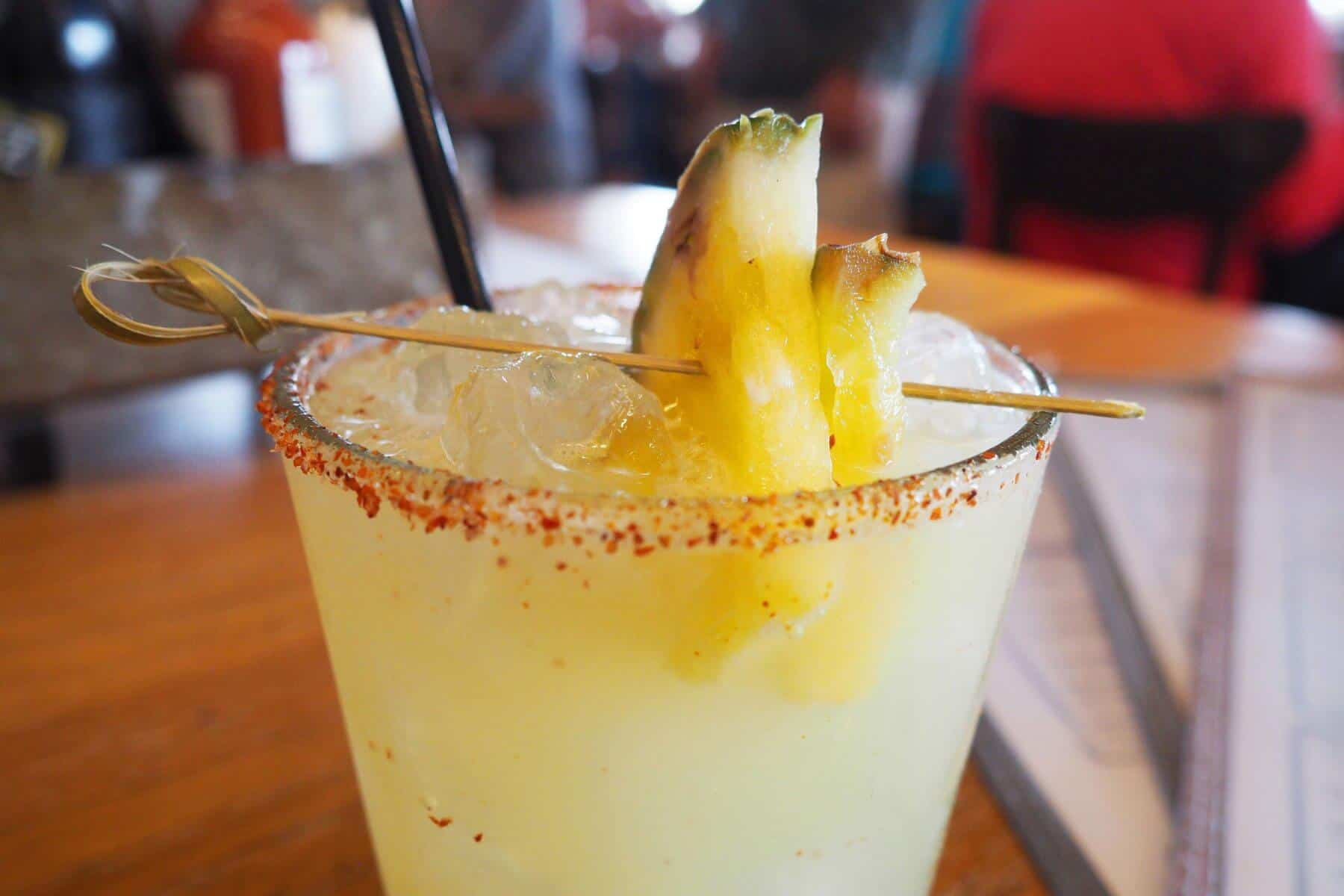 Hello Betty Fish House Ring of Fire Margarita